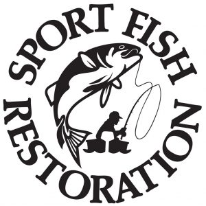 The Federal Aid in Sport Fish Restoration Act, or Dingell-Johnson Act, logo