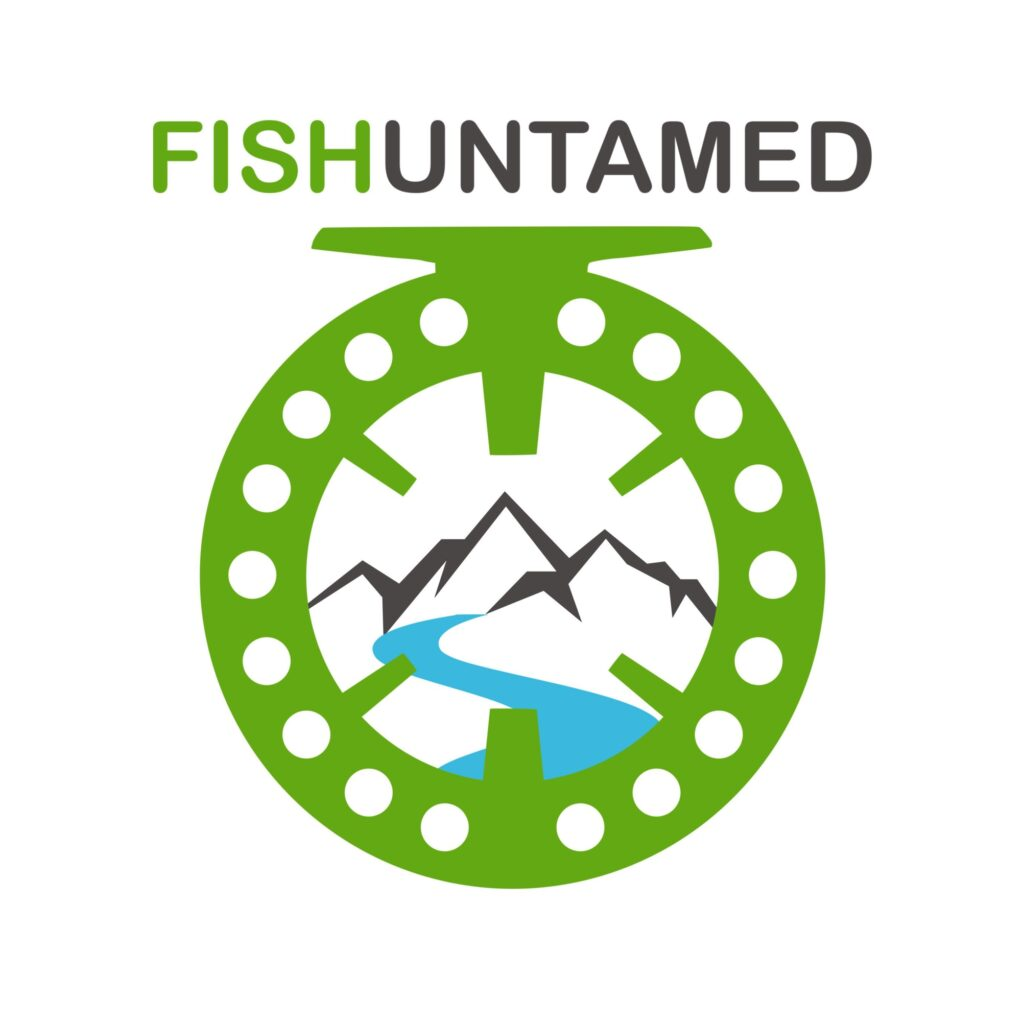 The cover of the Fish Untamed Podcast