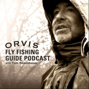 The cover art of the Orvis podcast