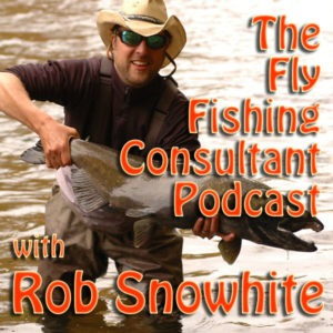 The cover art of the Fly Fishing Consultant podcast