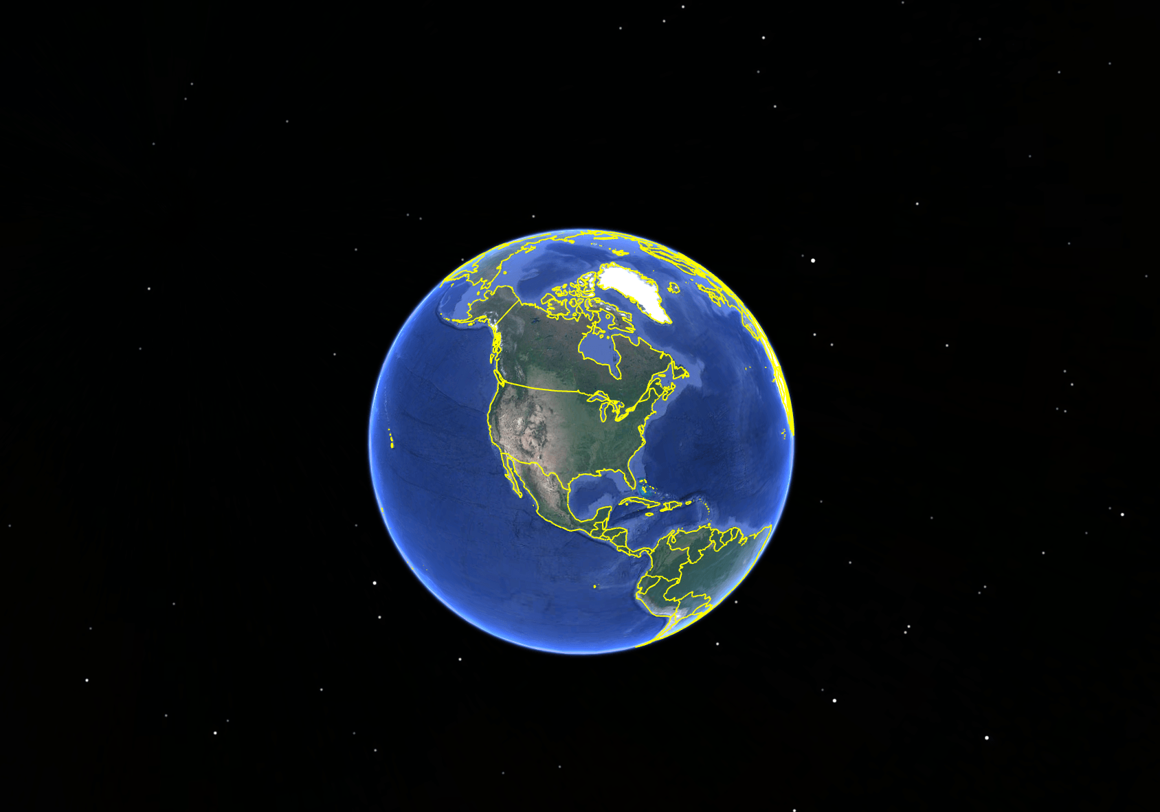 A screenshot of Google Earth