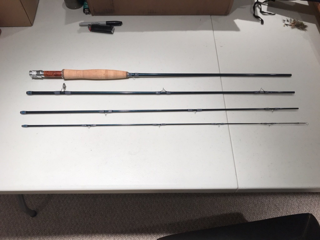 My First Experience Building a Fly Rod