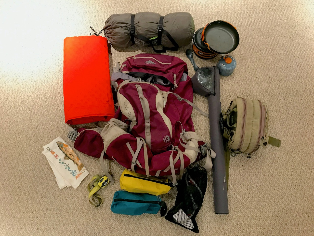 What's in my Backpack for Overnight Fishing Trips?