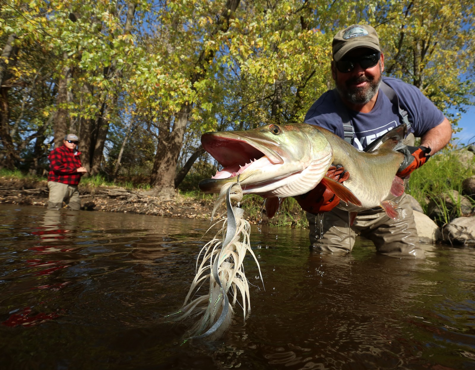 Ep 32: Muskies on the Fly, with Kip Vieth
