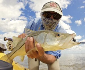 A snook caught in the Everglades